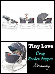 Tiny Love Bouncer Chair Tiny Love Cozy Rocker Napper Baby Must Have Giveaway Us 8 26