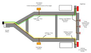 wiring led trailer lights diagram carlplant