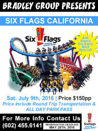 Six Flags Ad Events