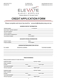Property Information Sheet Template Credit Application Template Rev103 1 Form For Auto Lotcos
