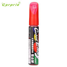 dropship selling dark red color auto car coat paint pen touch