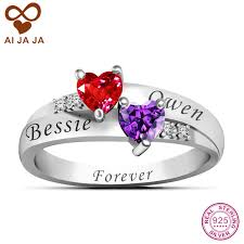 love promise rings images Aijaja 925 sterling silver personalized name engraved love promise jpg