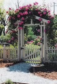 fence garden gardening ideas