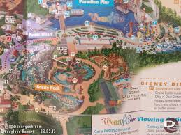 Disney Land Map Disneyland Resort Free Wi Fi Now Available In Multiple Locations