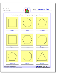 worksheet shapes range basic shapes