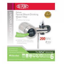 Faucet Mount Filter Wffm350xbn Dupont Faucet Mount Water Filter Brushed Nickel