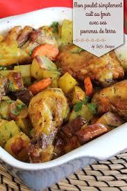 cuisiner un poulet au four un classique à cuisiner le poulet au four et ses pommes de terre