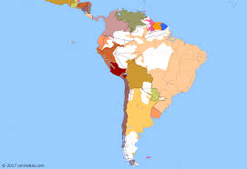 map of south america and mexico end of the war of the pacific historical atlas of south america