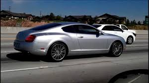 bentley silver bently continental gt silver two door coupe 200 000 dollars on