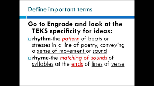 from teks to lesson ideas youtube