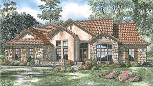 Southwestern Floor Plans Home Plan Homepw18990 2075 Square Foot 4 Bedroom 3 Bathroom