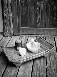 Zen Home Decor Zen Art Japanese Tea Ceremony Tray Art Print Peaceful Art