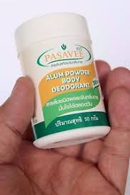 where can i get alum alum powder deodorant aluminum sulphate antiperspirant anti odor