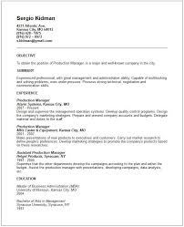 Warehouse Experience Resume Sample by Resume Objectives Business Operations Manager Resume Objective