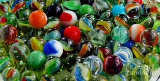 marbles glass balls toys ringers mibs photograph by