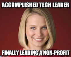 Profit Meme - accomplished tech leader marissa mayer meme on memegen
