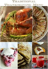traditional thanksgiving menu ideas wonkywonderful