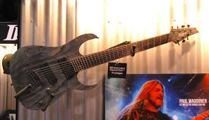 9 string fanned fret namm 2015 ibanez multiscale fanned fret 7 and 8 string guitars