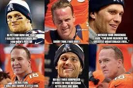 Peyton Manning Tom Brady Meme - peyton manning vs tom brady meme generator tom brady vs peyton