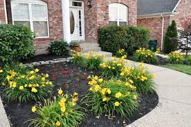 Front Of House Landscaping by Flower Beds For Front Of House Landscape And Plants Best Garden