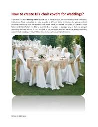 Chair Cover For Wedding The 25 Best Chair Covers For Weddings Ideas On Pinterest