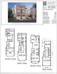 Narrow Townhouse Floor Plans 625 Best House Plans Images On Pinterest Small Houses Small