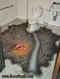 3d bathroom flooring 3d bathroom floor murals designs and self leveling floors