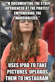 Ipad Meme - college liberal documents the strife via ipad college liberal
