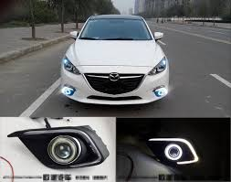 2016 mazda 3 fog light kit for mazda 3 axela 2013 2015 led daytime running lights drl fog