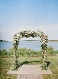 wedding ceremony arch flower and greenery wedding ceremony arch