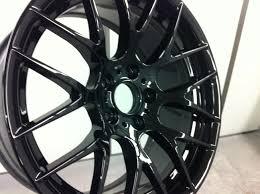 bmw black alloys bmw alloys get a sleek black gloss customer refurbishment