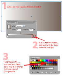tutorial illustrator gradient illustrator quick tip faster gradient color adjustments bittbox