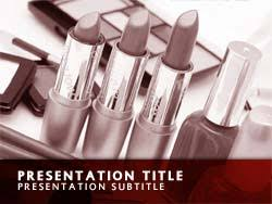 free cosmetics powerpoint template