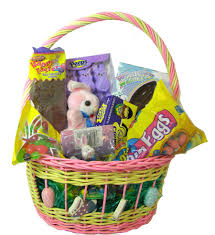 pre filled easter baskets filled easter candy basket for blaircandy