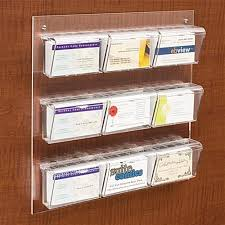 9 pocket card display for wall dispenser for 540 contacts