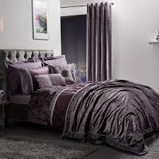elegance lia mauve luxury embellished duvet set bedding sets