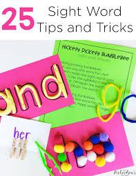 25 sight word tips and tricks mrs richardson u0027s class