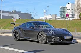 new porsche 911 gt3 new porsche 911 gt3 rs spied with 911 r diffuser may get 4 2l