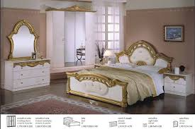 italian bedroom suite opera italian classic beige gold classic lacquer bedroom set with