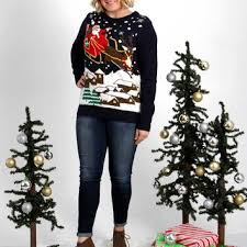 best light up ugly christmas sweater products on wanelo