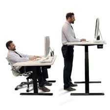 Adjustable Standing Sitting Desk Height Adjustable Ergonomic Desks For Less Overstock