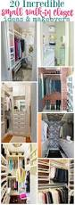 best images about organization ideas pinterest storage incredible small walk closet ideas makeovers