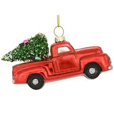 truck glass ornament 1196138 baubles n bling