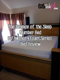 Sleep Number Beds Reviews The Science Of The Sleep Number Bed M7 Memory Foam Series Bed Review