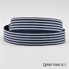 navy and white striped ribbon popular navy blue white stripe ribbon buy cheap navy blue white