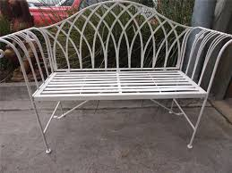 white wrought iron patio furniture table excellent white wrought