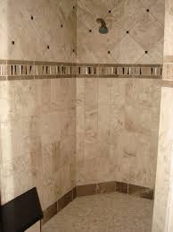 bathroom archaic bathtub surrounded with awesome traventine tiles