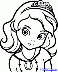 sofia the first coloring pages to print kids coloring