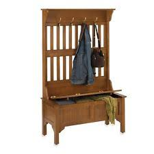 entryway storage bench coat rack ebay