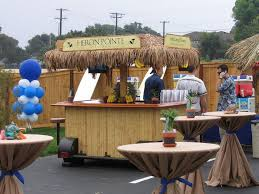 easy outdoor bar ideas
